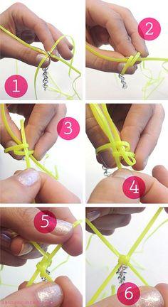 How To Lanyard + DIY Bracelet