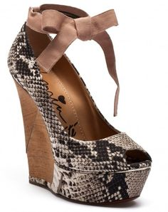 1a0f7782fba sexy Lanvin snake print vedges - Fashion for Women
