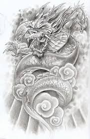 """Résultat de recherche d'images pour """"chinese dragon tattoo"""""""