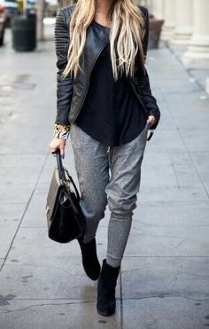 Cute way to wear these sweatpants