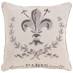 Fleur De Lis Pillow.