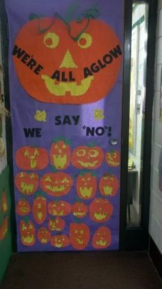 respect yourself be drug free door decorations - Google Search