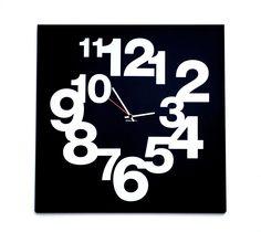 IT 509 CLOCK NUMBERS 50×50 cm Design: Leonardo Roverato