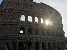 #Original #Rome #Italy #Colosseum #Sunset #roman
