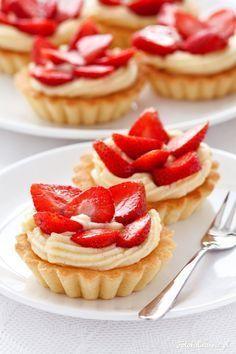 Polish Desserts, Fancy Desserts, Polish Recipes, Cookie Desserts, Sweet Desserts, Sweet Recipes, Cake Recipes, Snack Recipes, Dessert Recipes