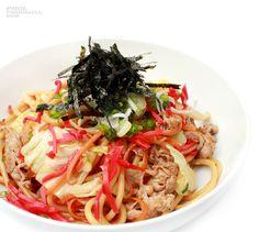 Yaki Bucatini Recipe Details, Spaghetti, Japanese, Ethnic Recipes, Food, Japanese Language, Eten, Meals, Noodle