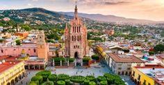 La 1: San Miguel de Allende. La lista se hace a partir de una encuesta donde Travel+Leisure pide a sus lectores opinar sobre las ciudades consideran mejores para visitar.
