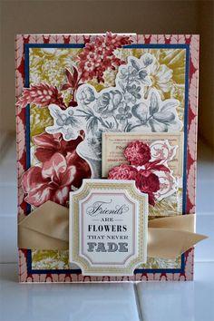 Card: *Anna Griffin* Friends Card -Jolee