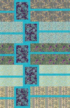 Box Trot quilt pattern by Creative Sewlutions as seen at Robert Kaufman Fabrics.  Pattern at: http://www.creativesewlutions.com/gallery/7/