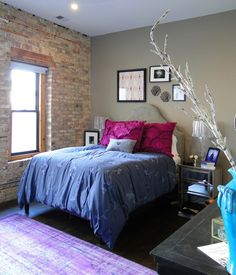 Ashley's Chic & Funky Loft House Tour   Apartment Therapy
