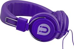 Uber 13131 Headphone OnEar Rubberized Purple * Details can be found by clicking on the image.