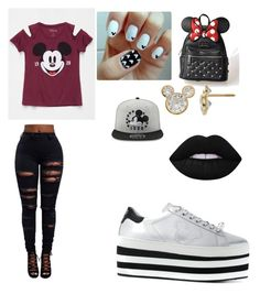 Mickey Mouse party by elenaanais on Polyvore featuring polyvore, fashion, style, Mighty Fine, MOA Master of Arts, Loungefly, Disney and clothing