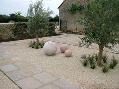garden design ideas low maintenance - Google Search