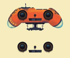 Robot Factory on Behance