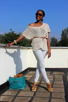 Chillin' in Crochet   This is Ess >>> Wearing skinnies without making your tush stand out....part 1