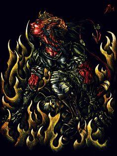 Cyber devil / Scratch.