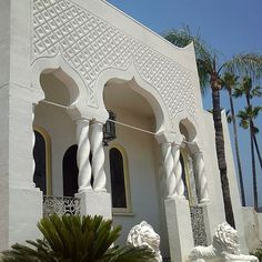 Entry #exterior #facade #MoorishRevival #architecture #filmlocation #eventvenue #setlife #LosAngeles