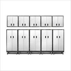 10-Piece Premier Garage Cabinet Set