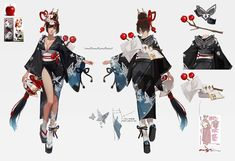 Female Character Concept, Fantasy Character Design, Character Design Inspiration, Character Art, Character Ideas, Space Anime, Anime Weapons, Fashion Design Drawings, Character Costumes