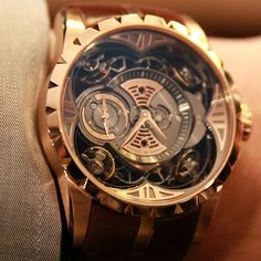 Roger Dubuis Excalibur Quatuor...  I don't think I have anything in my closet nice enough to wear with this. Ijs
