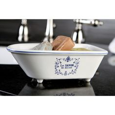 Le Savon Classic Clawfoot Tub Soap Dish - Overstock™ Shopping - The Best Prices on Bathroom Accessory Sets