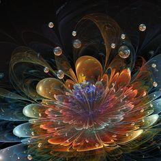Dew-drops Kisses by Fiery-Fire © on deviantart.com