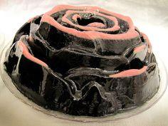Black Rose Jello by Victoria Belanger, via Flickr