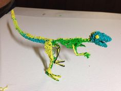 Jurassic Doodle #3Doodler #Dino #WhatWillYouCreate