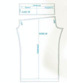Schnittmuster Sommerhose Summer Pants (Ladies XS-XL) luftige hose nähen
