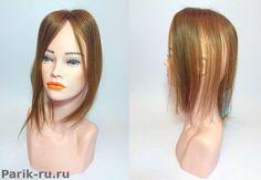 накладка полупарик из натуральных волос RP 05