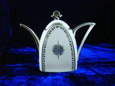 TLB Limoges Art deco teapot