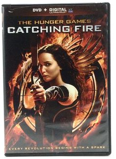 The Hunger Games Catching Fire DVD 2014 Jennifer Lawrence
