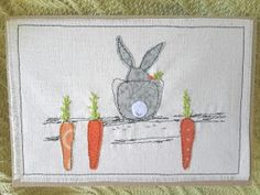 This, that and everything inbetween: More applique cards Embroidery Designs, Embroidery Cards, Free Motion Embroidery, Freehand Machine Embroidery, Machine Embroidery Applique, Applique Patterns, Applique Designs, Fabric Cards, Fabric Postcards