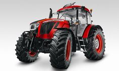 Czech tractor company Zetor has hit the Agritechnica fair in Hannover with a pimpin' concept that looks more Concours D'Eleganz than field d'asparaguz, thanks to the help of Italian design house Pininfarina. Yard Tractors, Parcs, Car Brands, Heavy Equipment, How To Look Pretty, Techno, Super Cars, Monster Trucks, Vehicles