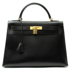 Hermes Kelly 32 In Black - would kill someone for this bag