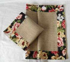 Best 9 Easy 10 Beginner sewing projects projects are readily available on our web pages. Check it out and you wont be sorry you did. Burlap Crafts, Fabric Crafts, Sewing Crafts, Burlap Projects, Diy Crafts, Sewing Hacks, Sewing Tutorials, Sewing Patterns, Applique Stitches