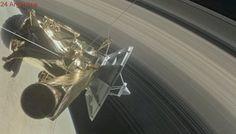 """El """"beso del adiós"""" de Cassini: se despide la nave que retrató los anillos de Saturno"""