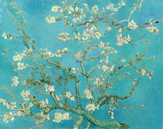 Almond Blossom Framed Art Print by Vincent Van Gogh - Vector Black - Vincent Van Gogh, Van Gogh Museum, Flores Van Gogh, Van Gogh Tapete, Van Gogh Wallpaper, Van Gogh Pinturas, Van Gogh Almond Blossom, Van Gogh Art, Van Gogh Paintings