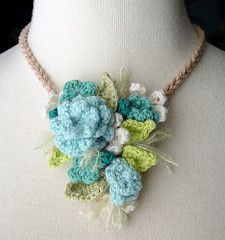 turquoise cluster necklace | Flickr - Photo Sharing!