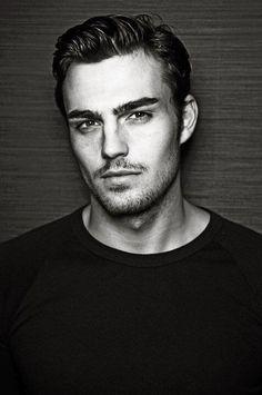 Peter Badenhop, German model, b. Robert Conrad, Good Looking Men, Hot Boys, Pretty People, Eye Candy, How To Look Better, Prince, Hair Cuts, Handsome