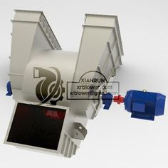 high capacity centrifugal fan, double suction fan, fans for dust collecting, power plant fans