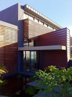 Large scale, contemporary holiday home - Pezula Estate, Knysna. By Architects Knysna, Wood Slats, Architects, Pergola, Scale, Aesthetics, Outdoor Structures, Contemporary, Outdoor Decor