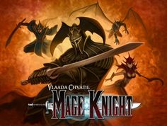 Mage Knight Board Game - So Good Solo! - Fight monsters! Cast spells! Level up! Conquer cities! Burn down monasteries! Read the Mage Knight Board Game Review!