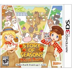 USA Story of Seasons: Trio of Towns - 3DS