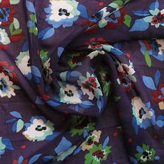 Gorgeously feminine, ideal for the Pussy Bow Blouse. Sold per half metre. To purchase 1 metre, enter 2 in the quantity bo Sew Over It, Dressmaking Fabric, Bow Blouse, Fabric Shop, Color Patterns, Baby Car Seats, Plum, Feminine, Bows