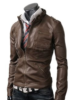 08913a2131953 Zip Pocket Light Brown Leather Jacket | On the Best Black Friday Deal |  Shop Now