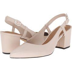 Clarks Pravana Claire (Nude Pink Leather) Women's Sling Back Shoes (265 PEN)