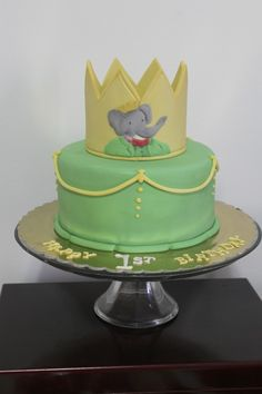 Richie's Babar cake! Babar Party