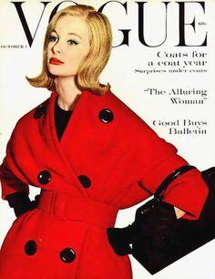 model Monique Chevalier, American Vogue cover by Irving Penn, Vogue Magazine Covers, Fashion Magazine Cover, Fashion Cover, 1960s Fashion, Vogue Fashion, Fashion Models, Vintage Fashion, High Fashion, Vogue Vintage