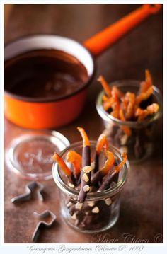 Les irrésistibles recettes au chocolat de Marie Chioca dont les orangettes ! Mes madeleines de Proust de l'hiver